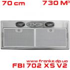 Встраиваемая вытяжка Franke FBI 702 XS V2