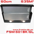 Телескопическая вытяжка Franke FSM 601 BK/GL